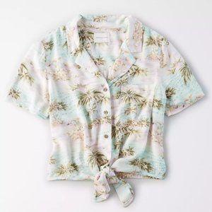 AE Hawaiian Shirt + Short Set